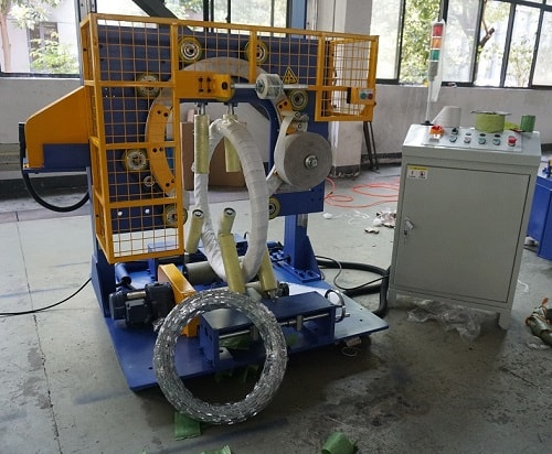 Razor wire packing machine