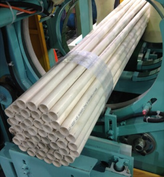 automatic pipe bundling machine
