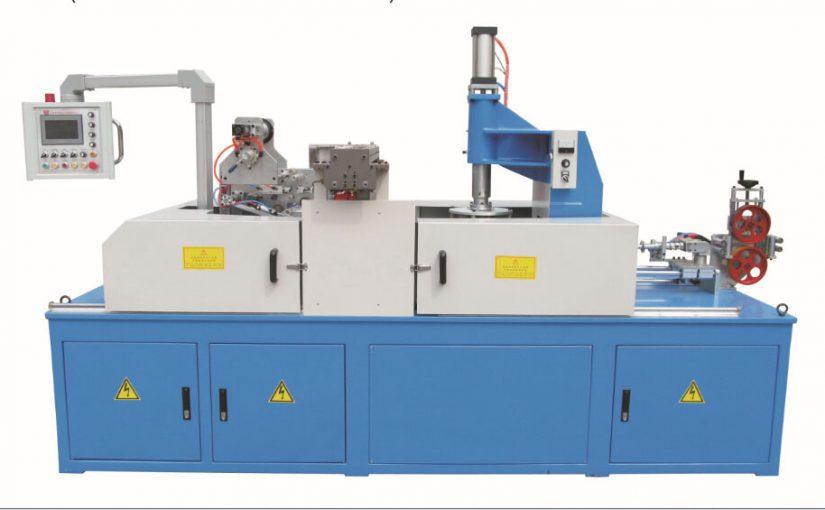 全自动管材收卷包装机 卧式塑料管材收卷机