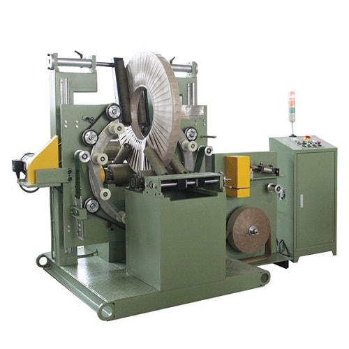 Copper coil packaging machine